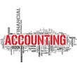 Accounting tag cloud