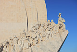 Monument to the Discoveries in Lisbon, Portugal poster