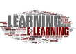 E-learning tag cloud