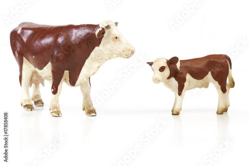 Aluminium Buffel bovins miniature