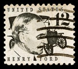 Henry Ford Postage Stamp