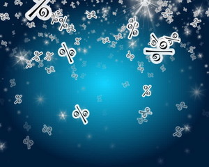 winter discount 3d animation