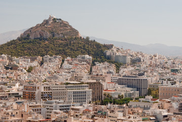 Athens from the Parthenon