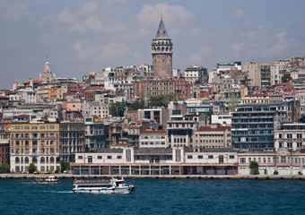 Istanbul from the Bosphorus