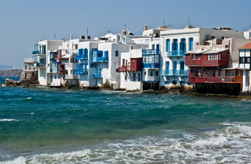 Seafront at Mykonos