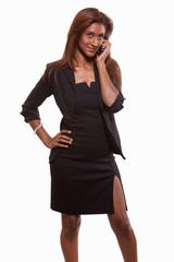 Attractive twenties brunette Indian businesswoman