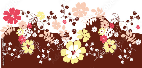Flower Floral background