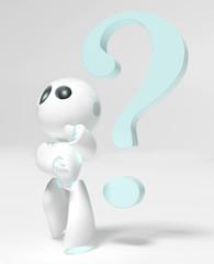 Piccolo robot dubbioso