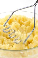 La purée de pommes de terre