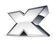 icône internet X / contenu pornographique