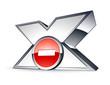 icône X, contenu pornographique interdit