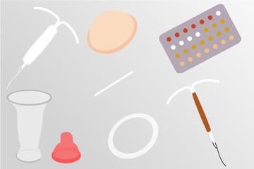 Différentes contraceptions