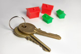 Keys with monopoly houses