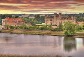 Leeds Castle at Sunrise
