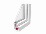 PVC Window section