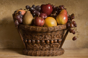 Fruit Basket Still Life