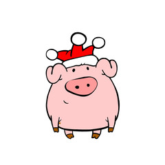 Piggy in jester hat