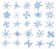 Snowflakes Icons.