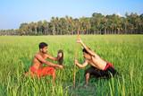 Kalarippayat, indian ancient martial art of Kerala poster