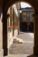 Inner court of Emmanuel College, Cambridge University