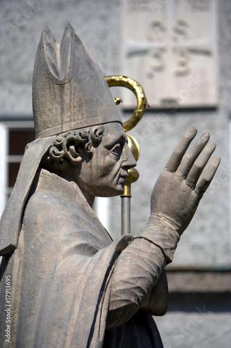 scultura di Papa