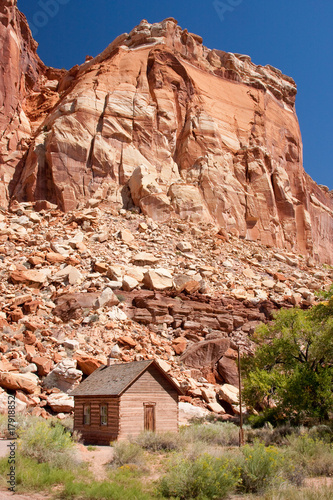 Historic Fruita School at Capitol Reef National Park, Utah
