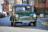 Old Car in Dublin, February 2009 poster