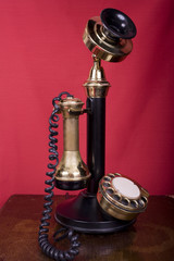 Candlestick Telephone on Table