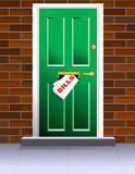 Door with many bills arriving - Debt in the home poster