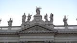 basilica san giovanni statues