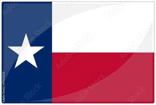 drapeau glassy texas flag