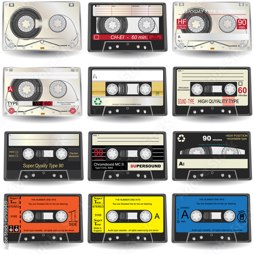 Cassette Icons - 17930419