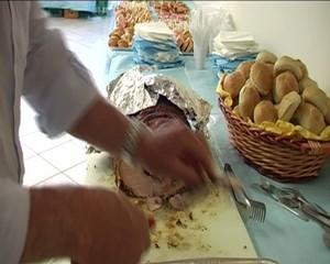 Porchetta di  maiale cotta al forno