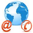 Weltweite Kommunikation - Vector