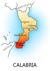 Regioni d'Italia - Calabria
