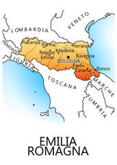 Regioni d'Italia - Emilia Romagna