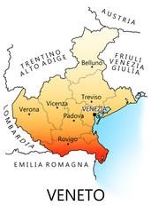 Regioni d'Italia - Veneto