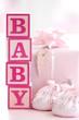 Fototapete Babyschuhe - Schuh - Spielzeug / drinnen