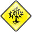"""Panneau """"Arbre"""" -- """"Tree"""" Signpost"""