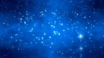 Weihnachten Sternenhimmel 1080
