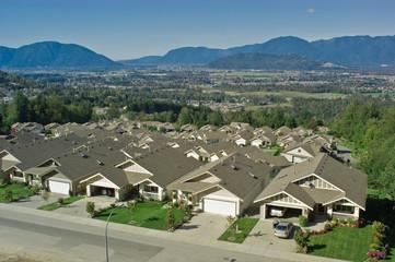 Subdivision scenic overlook