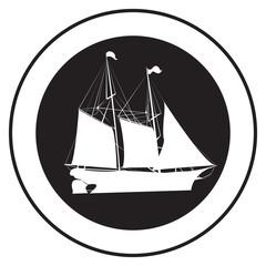 Emblem of an old ship 3