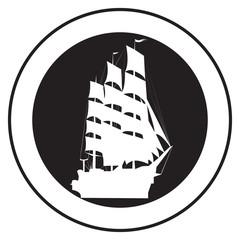 Emblem of an old ship 5