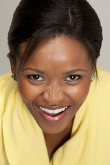 Smiling South African Woman