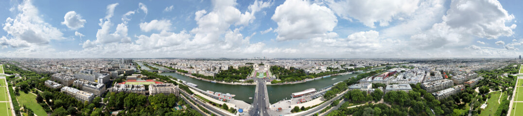 Paris-360 Grad Panorama, kleine Version.V1