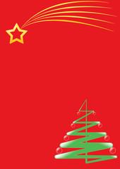 stella e albero di natale