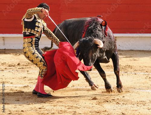 Staande foto Stierenvechten Matador with Sword