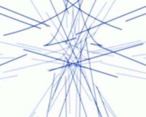 blaue linien blue lines
