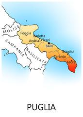 Regioni d'Italia - Puglia