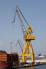 Crane in Malta Dockyards
